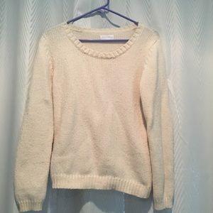 Brand name American vintage cream sweater
